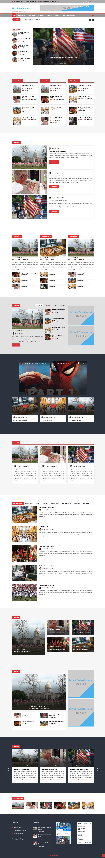 Pro Best News free wordpress theme